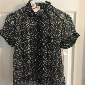 Band of Gypsies XS button up shirt